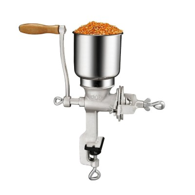 Bioexcel Premium quality Cast Iron Corn and Coffee Grinder with Table Clamp, Grind Soybean, Nuts, Multigrain