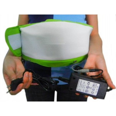 Bioexcel Slimming Massage Belt, Fat Burner Body Shake Belt - Electric Weight Lose Belt with Heat Function